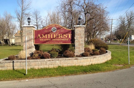 Sign of Amherst NY